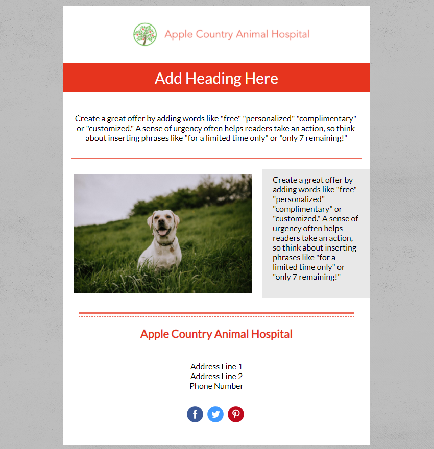 Apple County Animal Hospital In Product