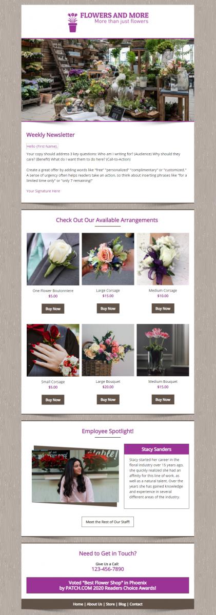 Flower and More Premium Design