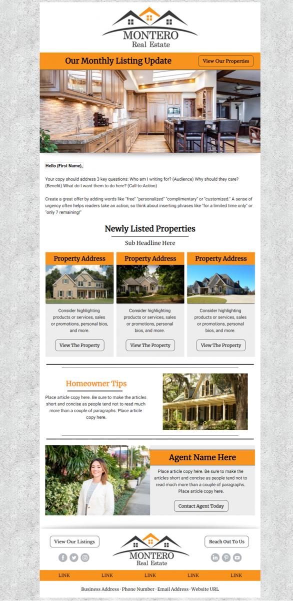 Real Estate Premium Design Example