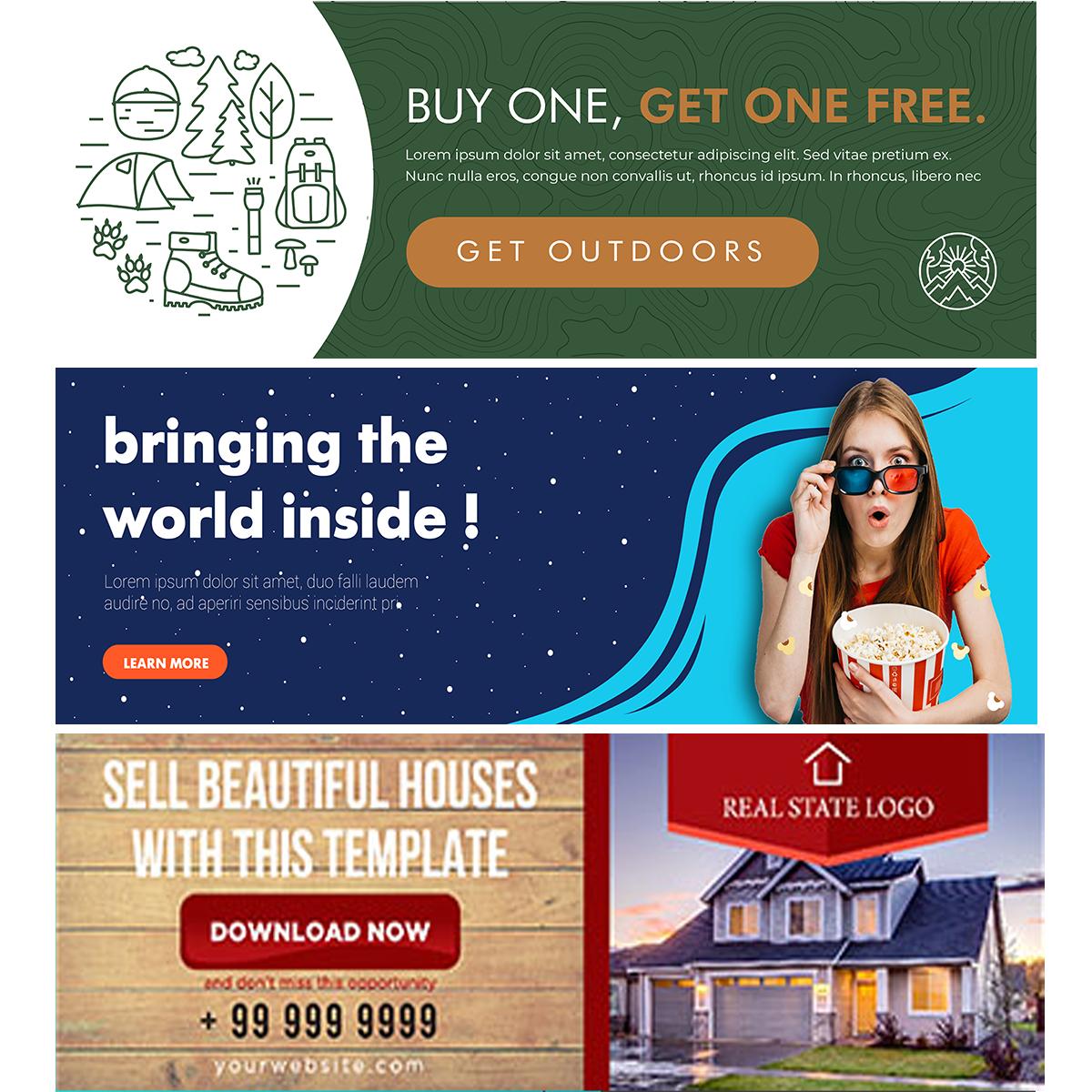 Website Header Examples